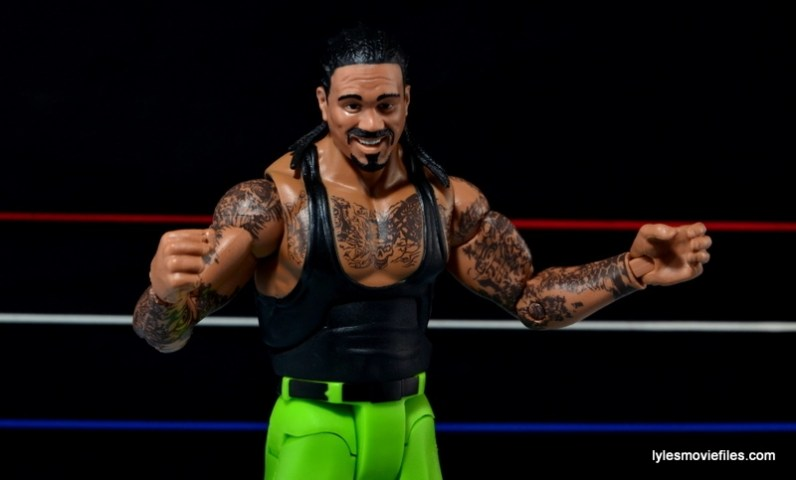 WWE Elite The Godfather review -arms out