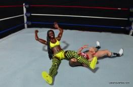 WWE Mattel Basic Naomi figure review - legdrop