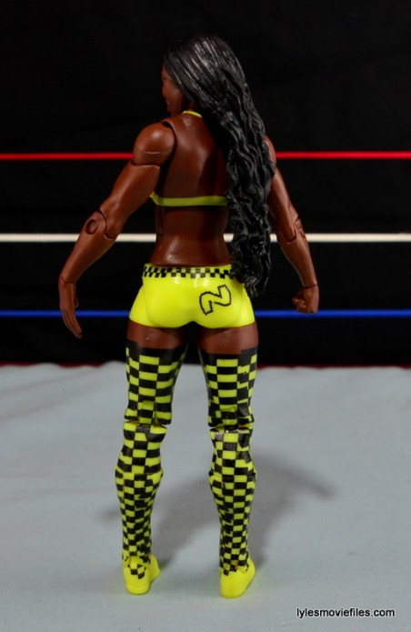 WWE Mattel Basic Naomi figure review -rear