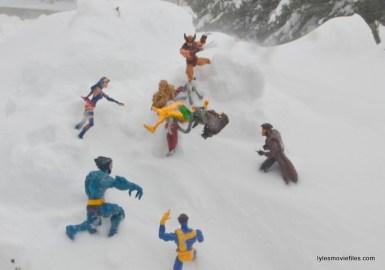 X-Men vs Omega Red snow mountain