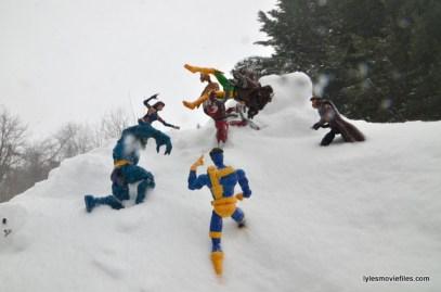 X-Men vs Omega Red