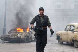 EXPENDABLES 2 - chuck norris