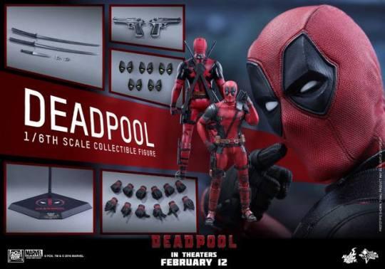 Hot Toys Deadpool figure -collage