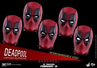 Hot Toys Deadpool figure -eyes