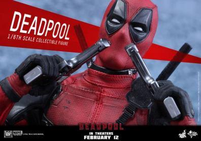 Hot Toys Deadpool figure -inhaling gunsmoke