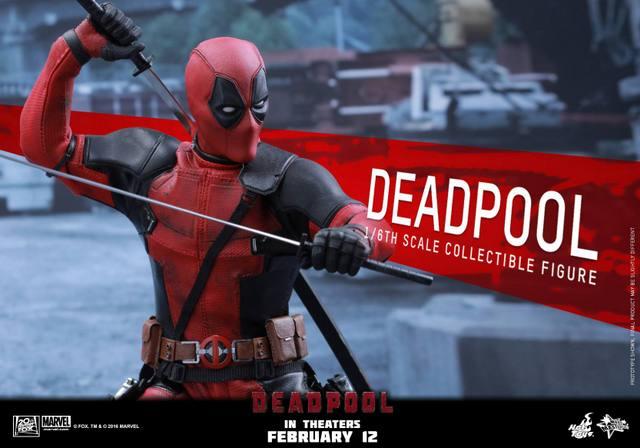 Hot Toys Deadpool figure -main pose