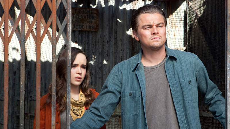 inception-ellen page and leonardo dicaprio