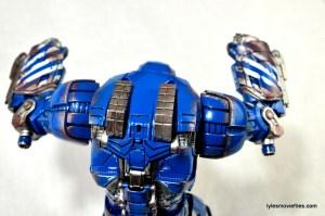 Iron Man 3 Igor Comicave Studios figure review - overhead rear