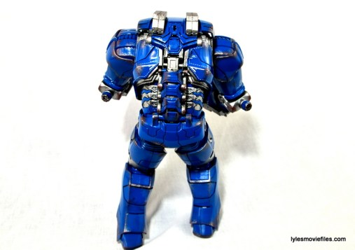 Iron Man 3 Igor Comicave Studios figure review - rear