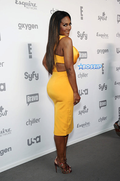 kenya moore yellow dress