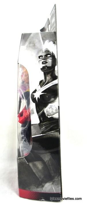 Marvel Legends Captain Marvel figure review - side package