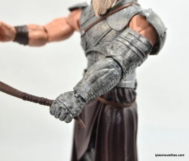 Marvel Legends Odin and King Thor review - King Thor Destroyer arm