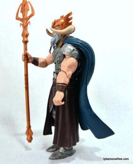 Marvel Legends Odin and King Thor review - Odin left side