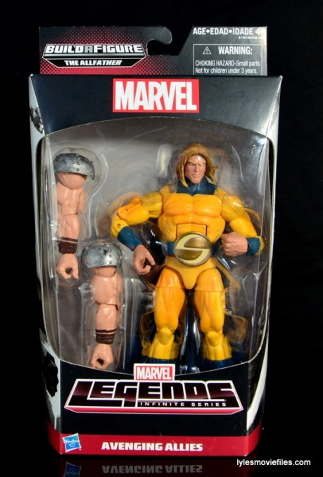 Marvel Legends Sentry figure review - front package
