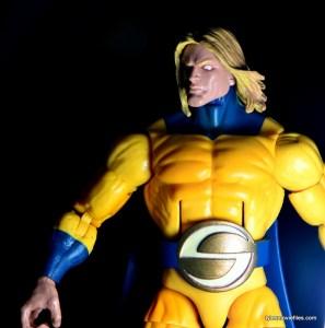 Marvel Legends Sentry figure review - sun light