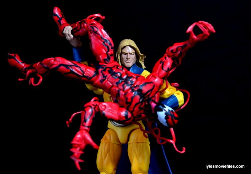 Marvel Legends Sentry Figure Review Vs Carnage Lyles Movie Files