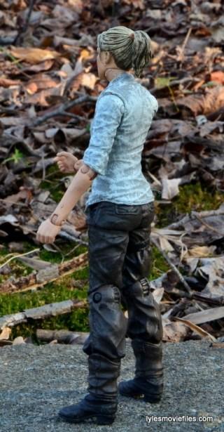 The Walking Dead Andrea figure review - left rear