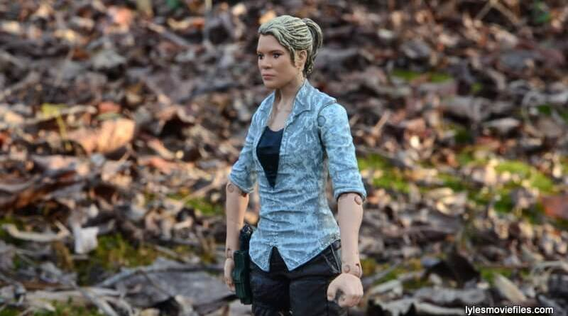 The Walking Dead Andrea figure review - main profile pic