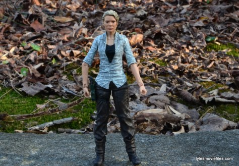The Walking Dead Andrea figure review - wide straight