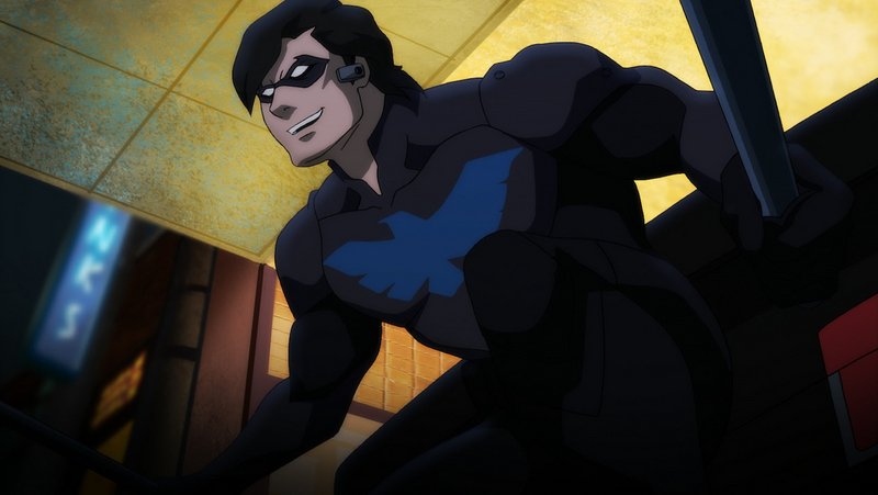 Batman Bad Blood review -Nightwing-1