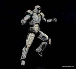 Comicave Studios Iron Man Shades figure review - on flight stand