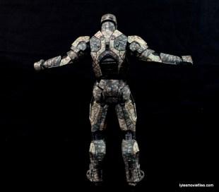 Comicave Studios Iron Man Shades figure review - rear