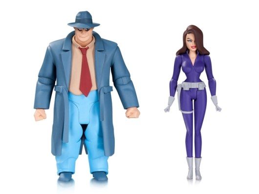 DC Collectibles Batman Animated series - Harvey Bullock and Talia al Ghul