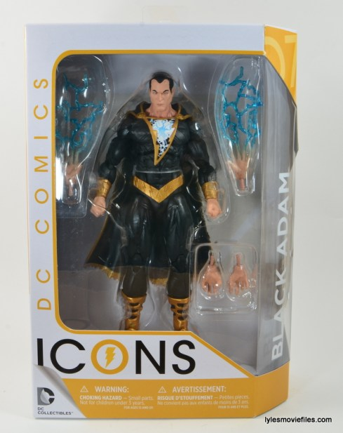 DC Icons Black Adam review - front package