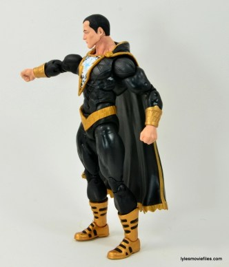 DC Icons Black Adam review - left side