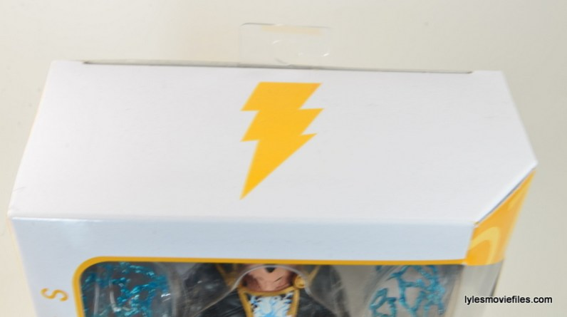 DC Icons Black Adam review - top package