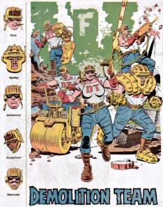 Demolition_Team_DC Comics