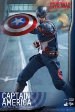 Hot Toys Captain America Civil War Captain America figure -raising shield