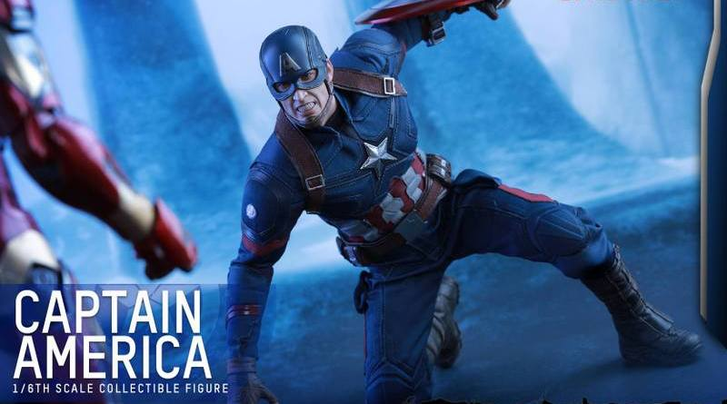 Hot Toys Captain America Civil War Captain America figure -ready for Iron Man
