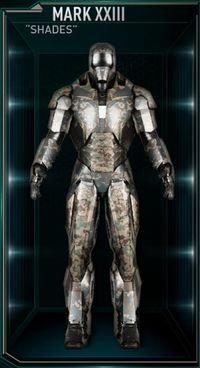 Iron_Man_Armor_MK_XXIII Shades armor