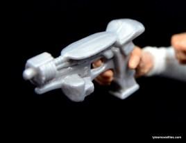 Marvel Legends Sharon Carter figure review - gun closeup