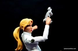 Marvel Legends Sharon Carter figure review - profile