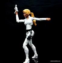 Marvel Legends Sharon Carter figure review - turning