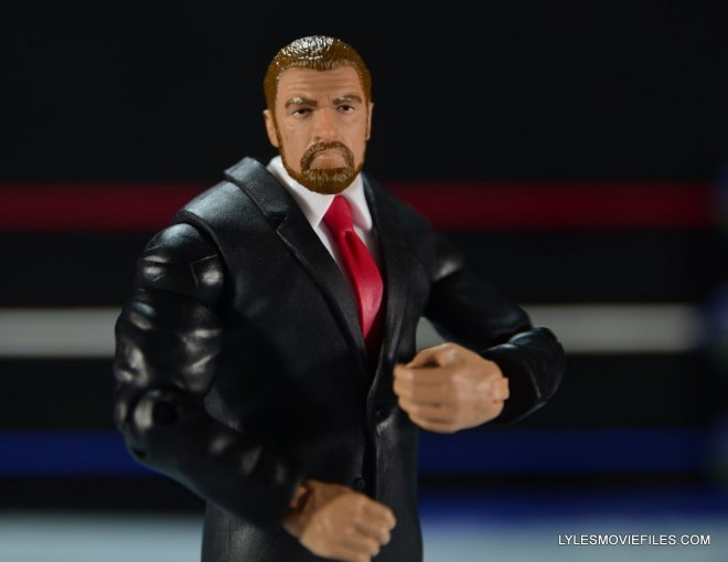 Mattel WWE Battle Pack - Triple H vs Daniel Bryan -Triple H fixing tie