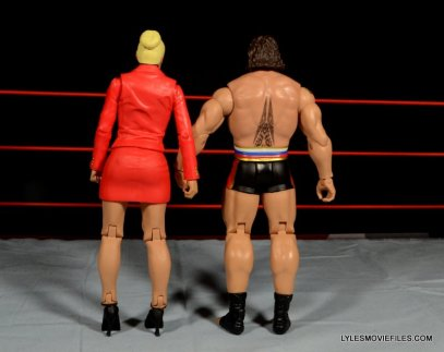 Mattel WWE Lana and Rusev Battle Pack -Lana and Rusev rear