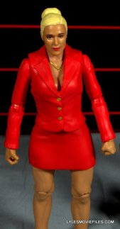 Mattel WWE Lana and Rusev Battle Pack -Lana tight view