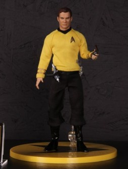 Mezco Toys pre-Toy Fair -Captain Kirk Star Trek