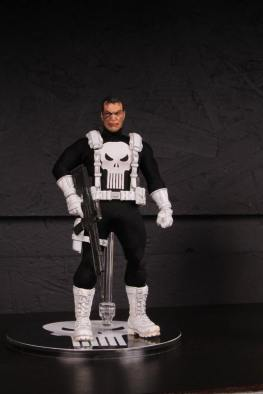 Mezco Toys pre-Toy Fair -Punisher white accents