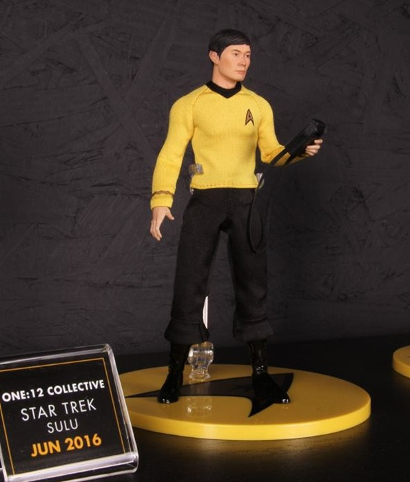 Mezco Toys pre-Toy Fair - Sulu Star Trek