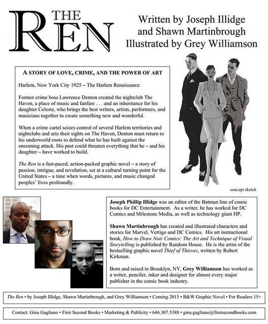 The REN one sheet