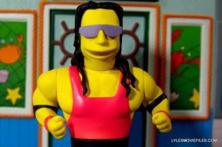 The Simpsons NECA Bret Hart - main profile pic