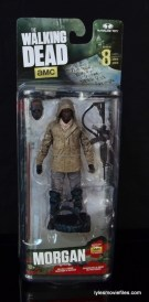 The Walking Dead Morgan Jones McFarlane Toys figure review - front package