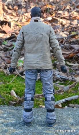 The Walking Dead Morgan Jones McFarlane Toys figure review -rear
