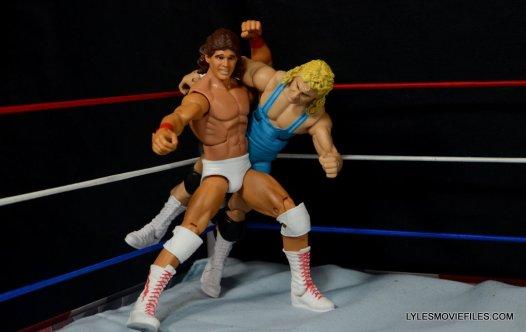 Tito Santana Mattel Hall of Fame figure -hip toss Mr. Perfect