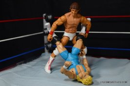 Tito Santana Mattel Hall of Fame figure -putting Mr. Perfect in corner