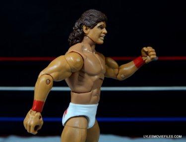 Tito Santana Mattel Hall of Fame figure -right side close up